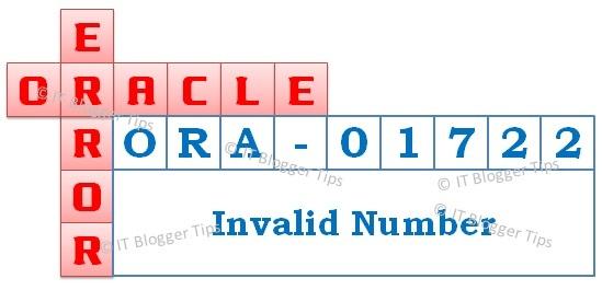 Ora-01722 Invalid Number
