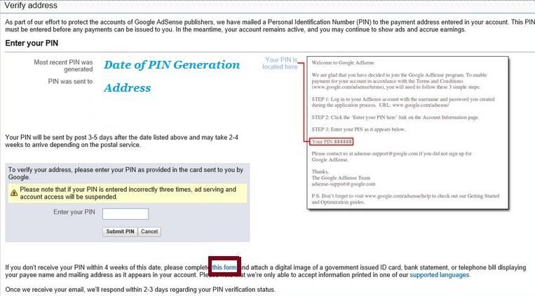 Verify Account Address using ID