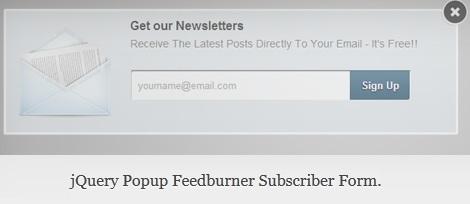 SC Popup Subscriber Form