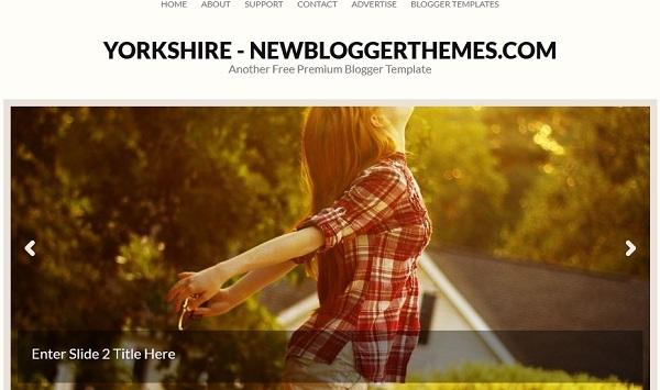 Yorkshire Blogger Template