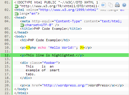 Syntax Highlighter WordPress Plugins