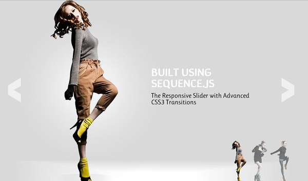 Sequence – The Responsive Slider with Advanced CSS3 Transitions